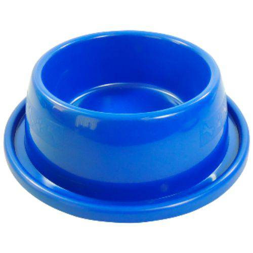 Comedouro Plast. Anti-formiga N1 - 350 Ml (azul)