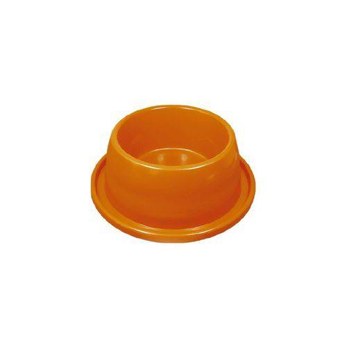 Comedouro Plástico Anti-formiga - 350 Ml - Laranja