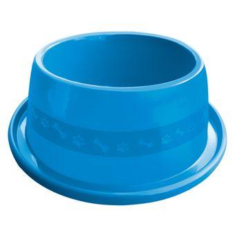 Comedouro Plástico Furacão Pet Antiformiga N°4 1900ml - Azul