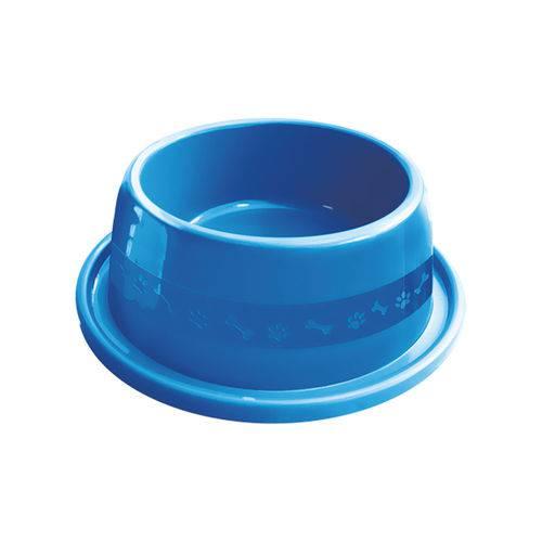 Comedouro Plástico Furacão Pet Antiformiga Nº2 550ml - Azul