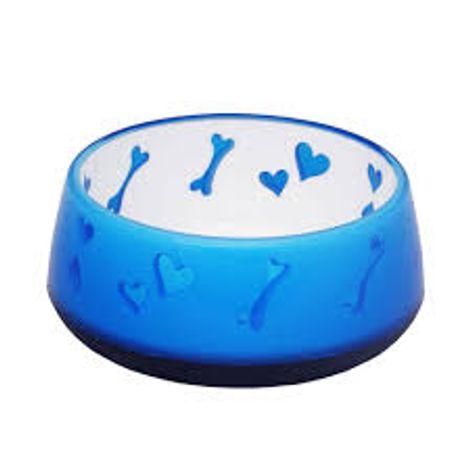 Comedouro Puppy Love Bowl Azul - Afp 900 ML