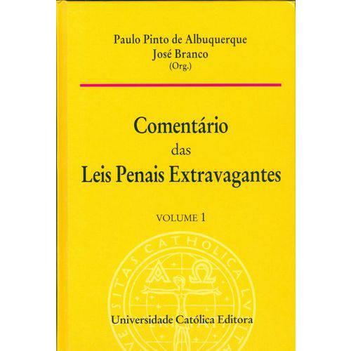 Comentario das Leis Penais Extravagantes - Volume 1 - 1ª