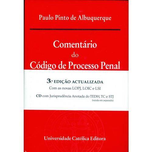 Comentario do Codigo de Processo Penal - 3