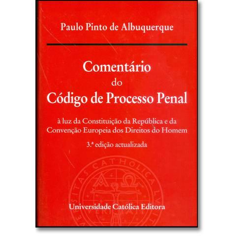Comentário do Código de Processo Penal