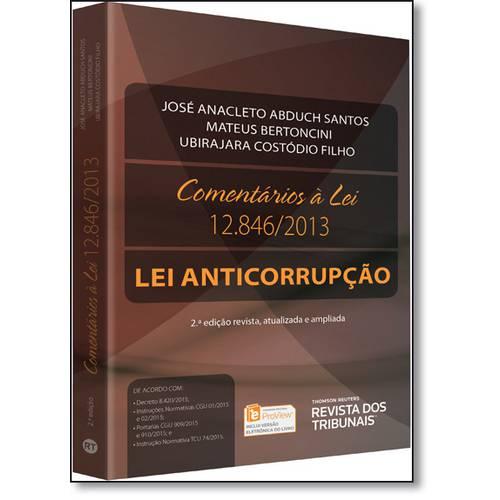 Comentários à Lei 1.846: Lei Anticorrupção