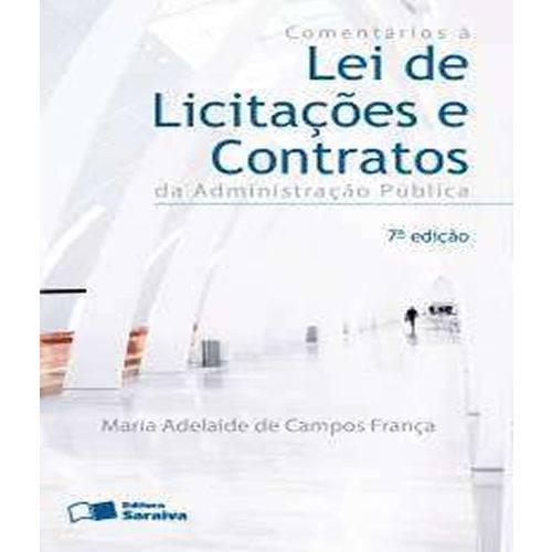 Comentarios a Lei de Licitacoes e Contratos - 07 Ed