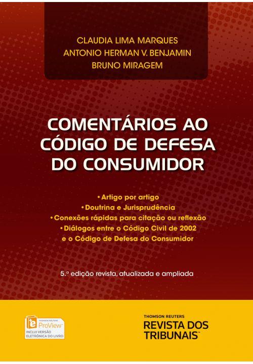 Comentários ao Código de Defesa do Consumidor - 5ª Edição