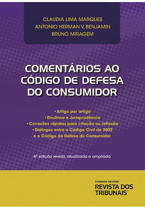 Comentários ao Código de Defesa do Consumidor 6ª Edição