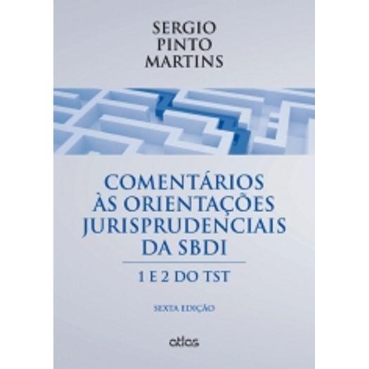 Comentários às Orientações Jurisprudenciais da Sbdi