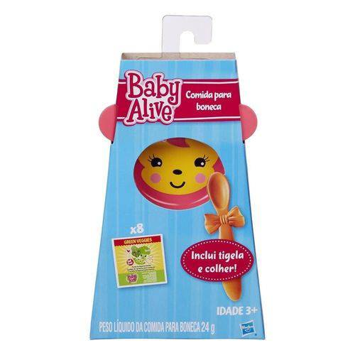 Comida e Acessórios Baby Alive - Hasbro A8581