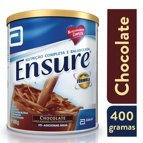 Complemento Alimentar Ensure Chocolate 400g