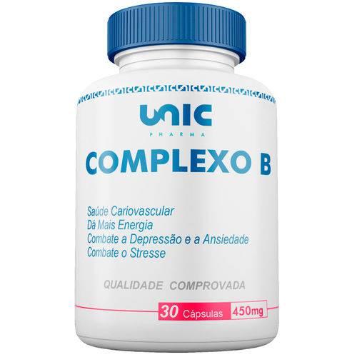 Complexo B 450mg 30 Cáps Unicpharma