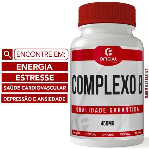 Complexo B 450mg 60 Cápsulas - Of