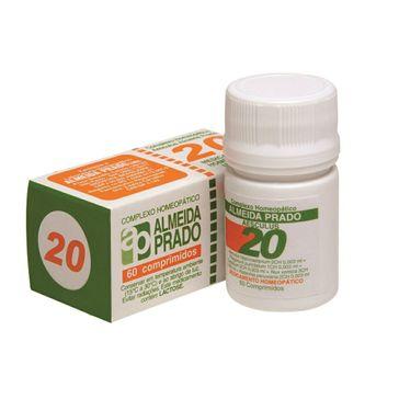 Complexo Homeopático Almeida Prado 20 60 Comprimidos