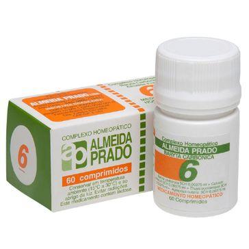 Complexo Homeopático Almeida Prado 06 60 Comprimidos