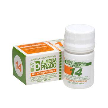 Complexo Homeopático Almeida Prado 14 60 Comprimidos