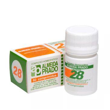 Complexo Homeopático Almeida Prado 28 60 Comprimidos