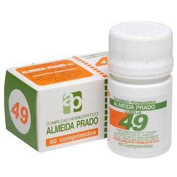 Complexo Homeopático Almeida Prado com 60 Comprimidos N. 49