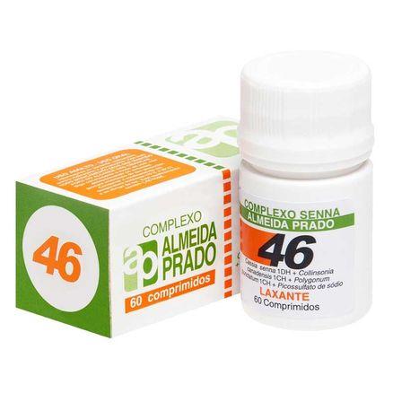 Complexo Homeopático Lachesis Almeida Prado Nº 46 60 Comprimidos