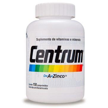 Complexo Vitamínico Centrum de a A Zinco 150 Comprimidos