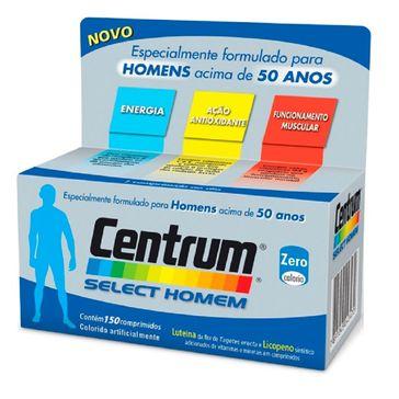 Complexo Vitamínico Centrum Select Homem 150 Comprimidos