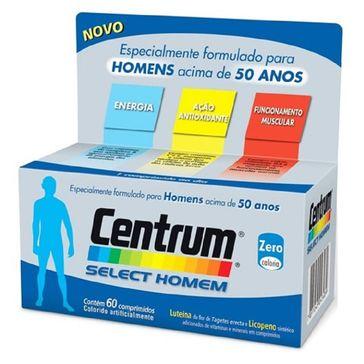 Complexo Vitamínico Centrum Select Homem 60 Comprimidos