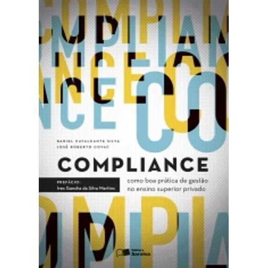 Compliance Como Boa Pratica de Gestao no Ensino Superior Privado - Saraiva