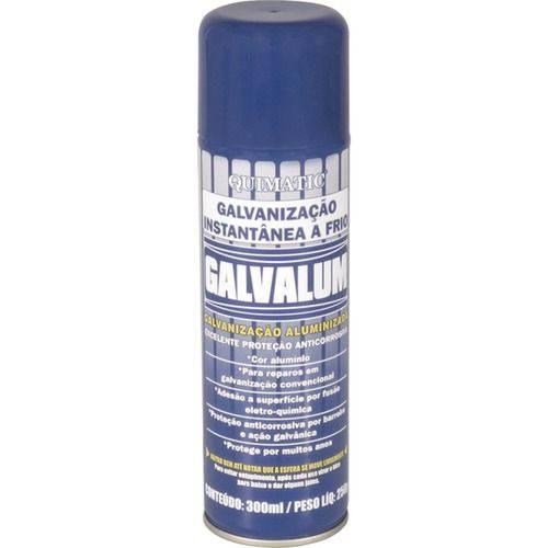 Composto para Galvanização a Frio Spray 300 Ml - Quimatic Tapmatic