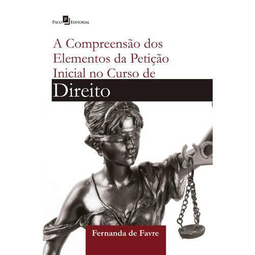 Compreensao dos Elementos da Peticao Inicial no Curso de Direito, a