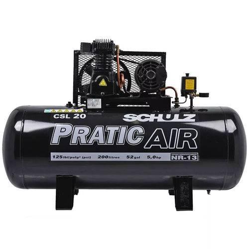 Compressor de Ar 20/200 Pratic Air Trif. Schulz - 92135200