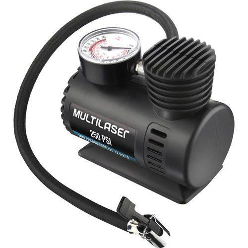 Compressor de Ar Mini 12V Automotivo 250PSI AU601 Multilaser