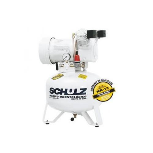Compressor de Ar Msv6/30l Monofásico 220v Odontologico Schulz
