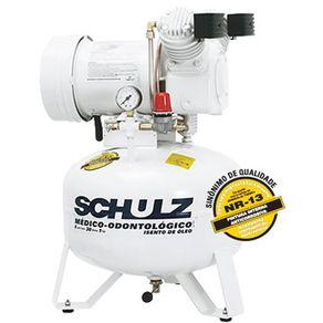 Compressor de Ar Odontológico Isento de Óleo - MSV 6/30 - Schulz 220v