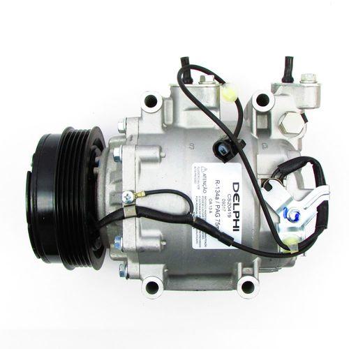 Compressor Delphi Honda City 2009 a 2014 Fit 2009 a 2014