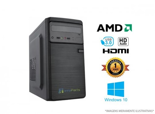 Computador Home Office AMD FX6300 - 4GB, 500GB WIN10| InfoParts