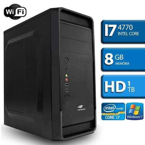 Computador Intel Core I7, 8Gb Ram, HD 1Tb, Windows