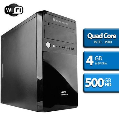 Computador Quad Core Intel, HD 500, 4GB Ram, HDMI, WiFi
