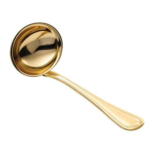 Concha de Molho em PVD Dourado Geneve Wolff