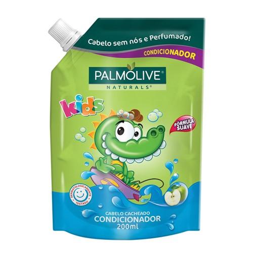 Condicionador Infantil Palmolive Kids Cabelo Cacheado Refil 200ml