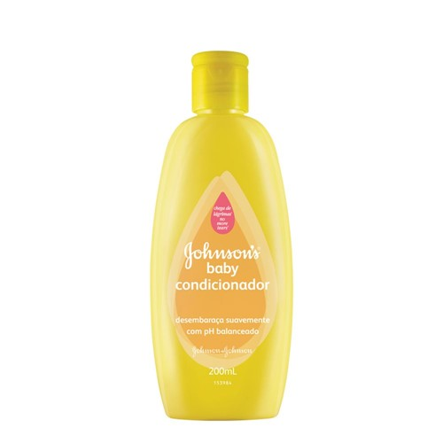 Condicionador Johnson & Johnson Baby 200ml