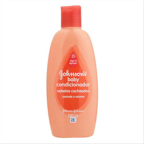 Condicionador Johnsons Baby para Cabelos Cacheados 200ml
