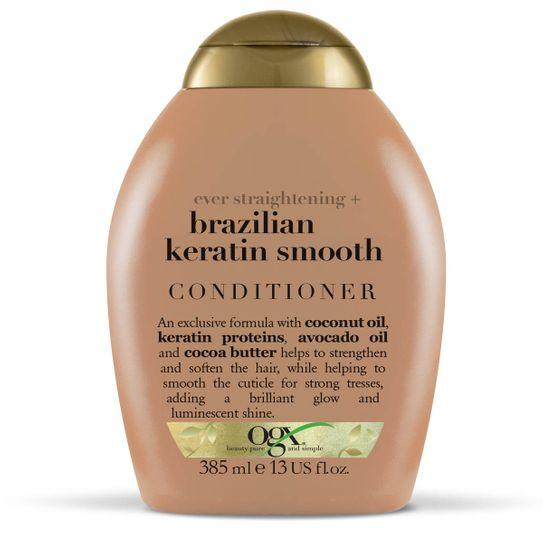 Condicionador Ogx Brazilian Keratin Smooth 385ml