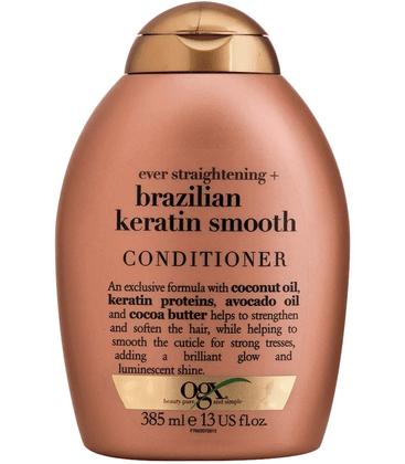 Condicionador Ogx Brazilian Keratin Smooth Condicionador Ogx Brazilian Keratin Smooth 385ml