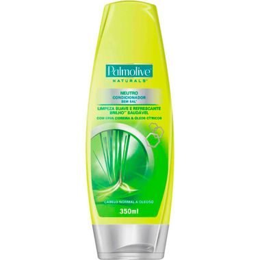 Condicionador Palmolive Naturals Neutro 350ml Cj. C/ 3 Un.