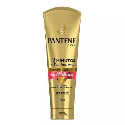Condicionador Pantene 3 Minutos Milagrosos Cachos Hidra-Vitaminados 170ml