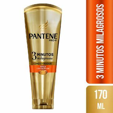 Condicionador Pantene 3 Minutos Milagrosos Força e Reconstrução 170ml