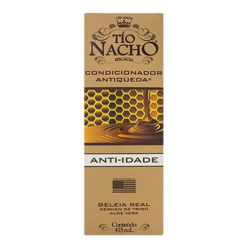Condicionador Tio Nacho Antiqueda e Anti-Idade com 415ml