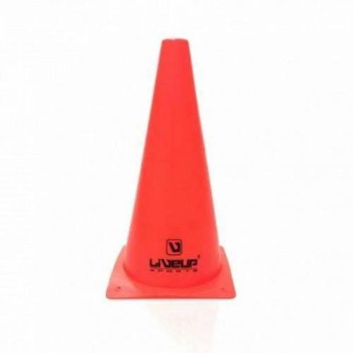 Cone de Agilidade 28cm Liveup - Vermelho