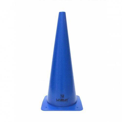 Cone de Agilidade para Demarcacao com 48 Cm Azul Liveup