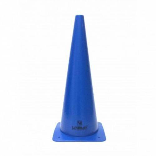 Cone de Agilidade Treino Funcional 48cm Azul Liveup